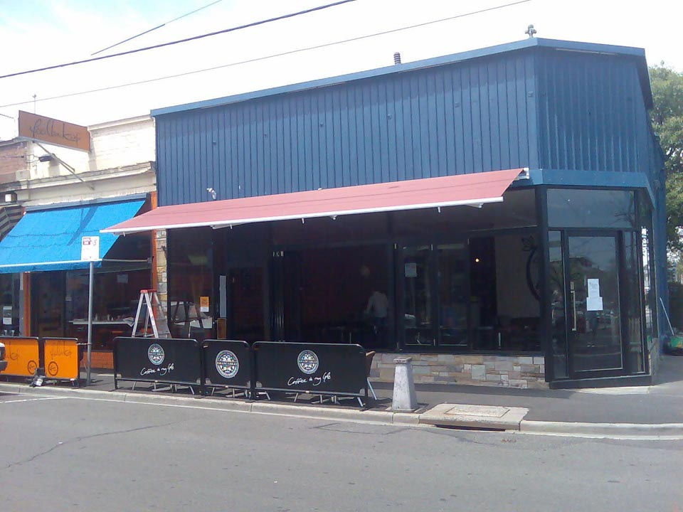 Commercial Folding Arm Awnings 8