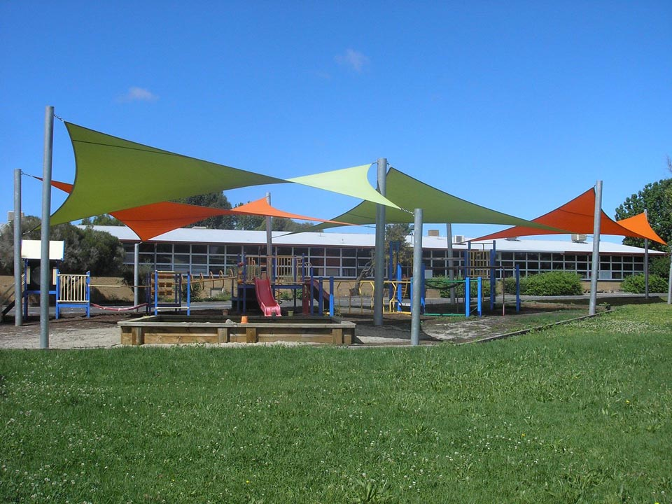 Commercial projects yarra shade co for Shadesails com