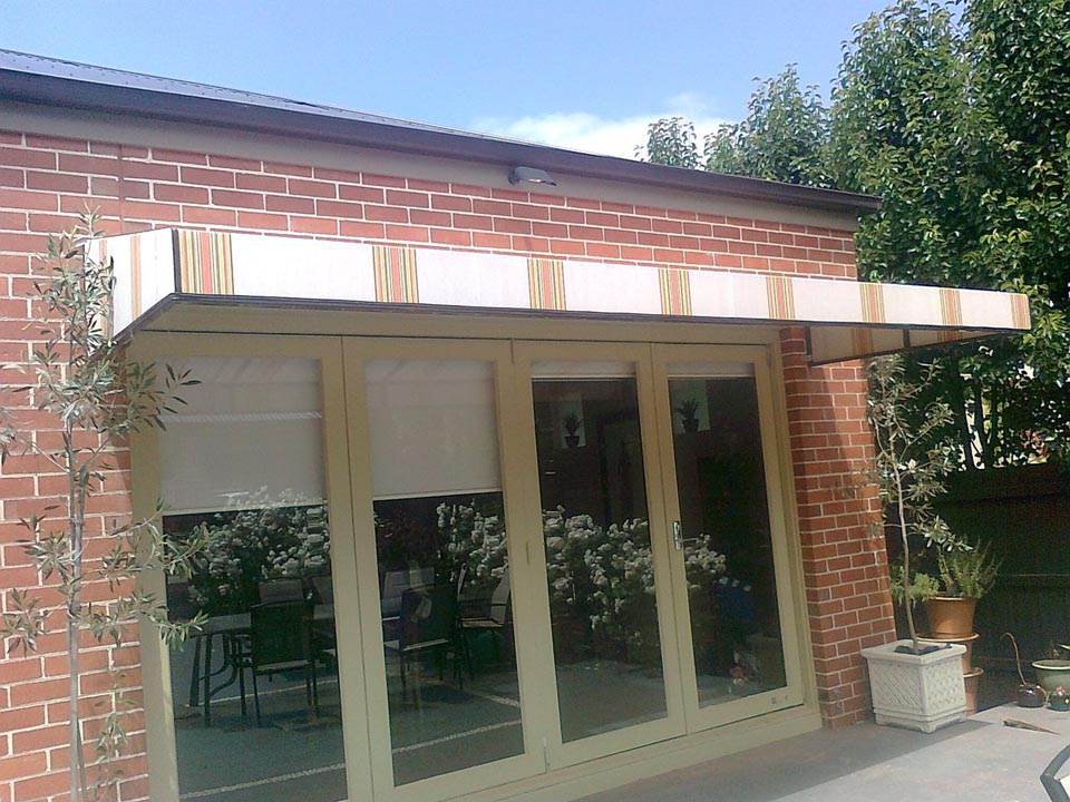 Fixed Awnings Melbourne Fixed Canvas Awnings Yarra Shade