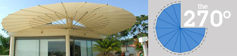 270 Degree SeaShell Awnings